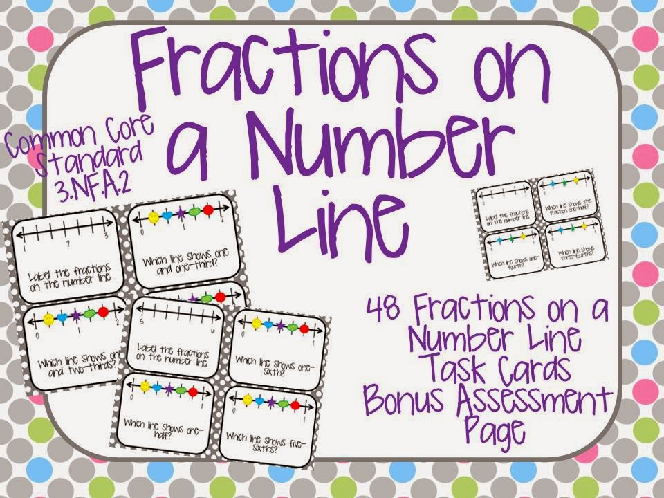 http://www.teacherspayteachers.com/Product/Fractions-on-a-Number-Line-Task-Cards-1141667
