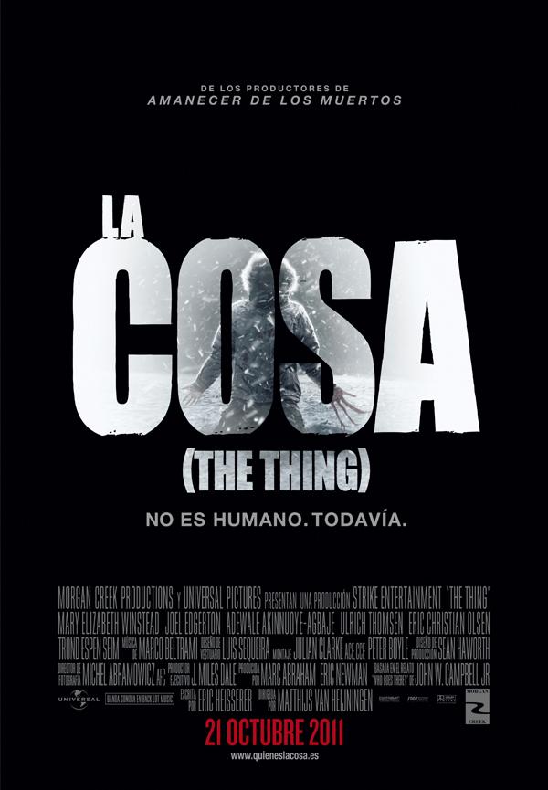 Poster de La Cosa