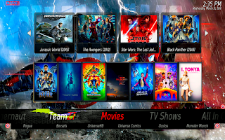 marvel kodi build