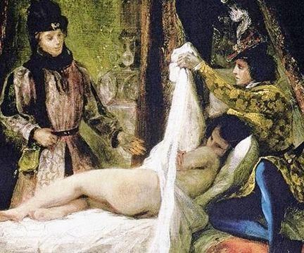 Delacroix, Louis d'Orléans Showing his Mistress - 1825-26