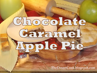 apple pie with chocolate chips and caramel recipe photo by candy dorsey
