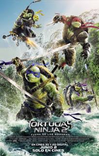 Tortugas Ninja 2 Fuera de las Sombras en Español Latino