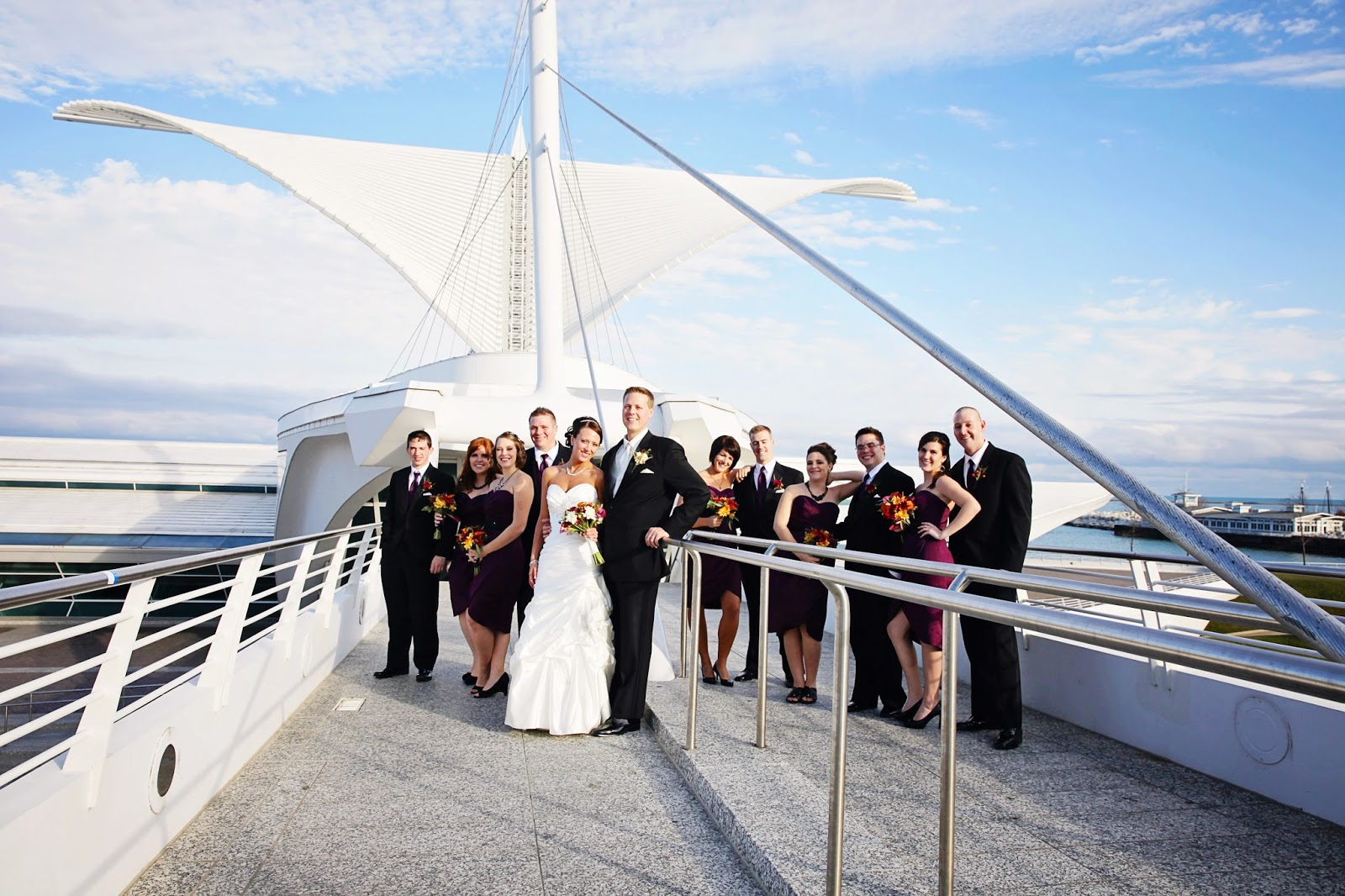 marina wedding milwaukee