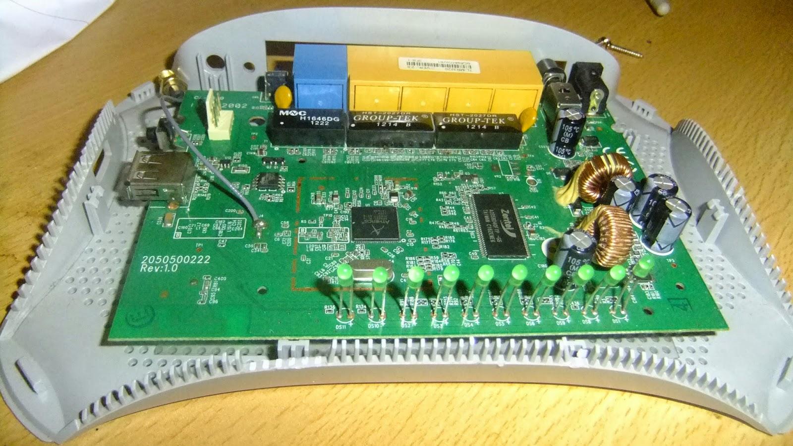 MR3220 - main PCB