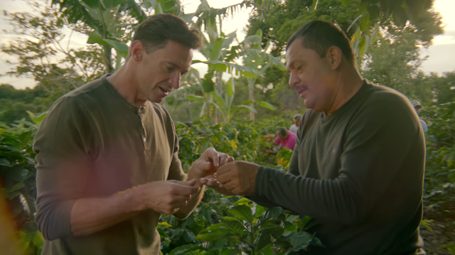 Laughing Man Coffee and Hugh Jackman Inspire Consumers to 'Make Every Cup Count' in Support of Coffee Farming Communities