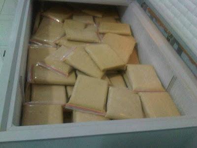 Jual Daging Durian Beku Ke Palembang