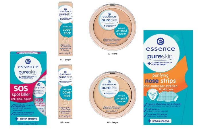 essence Auslistungen Herbst Winter 2017 Pure Skin