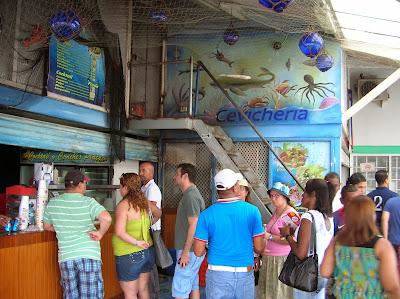 Cevichería Palace, Mercado del Marisco, Panamá, round the world, La vuelta al mundo de Asun y Ricardo, mundoporlibre.com