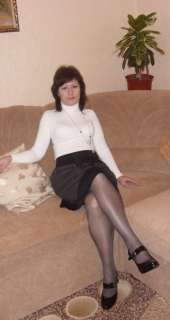 fashion tights skirt dress heels : Glossy shine pantyhose ...
