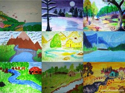 Ilkbahar Resmi Boyama Kolay Coloring Free To Print