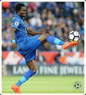 Daniel Amartey Leicester City 2016-17