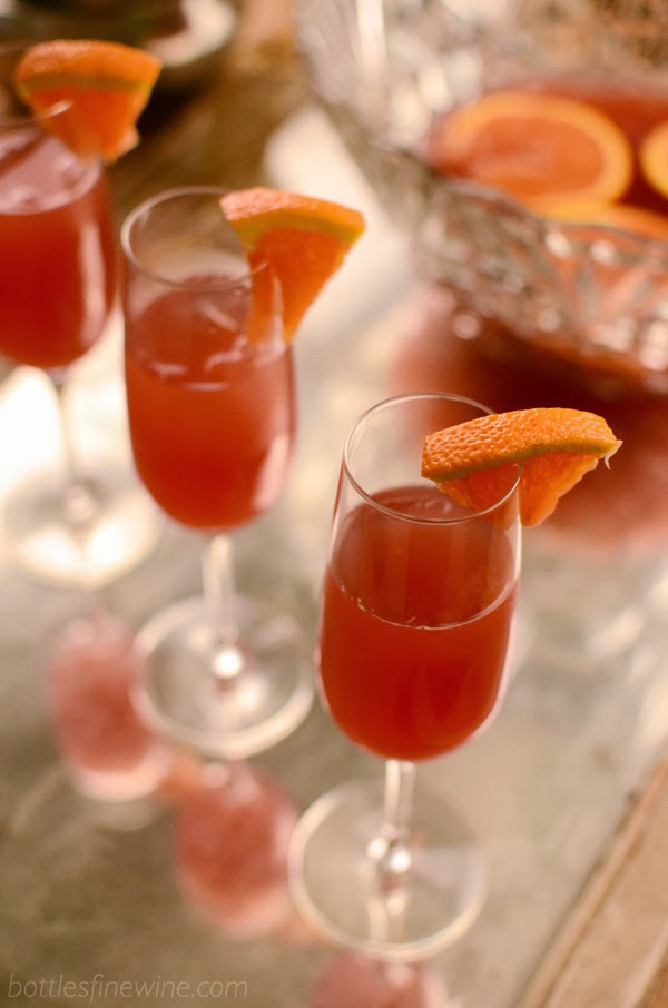 Champagne Punch Idea