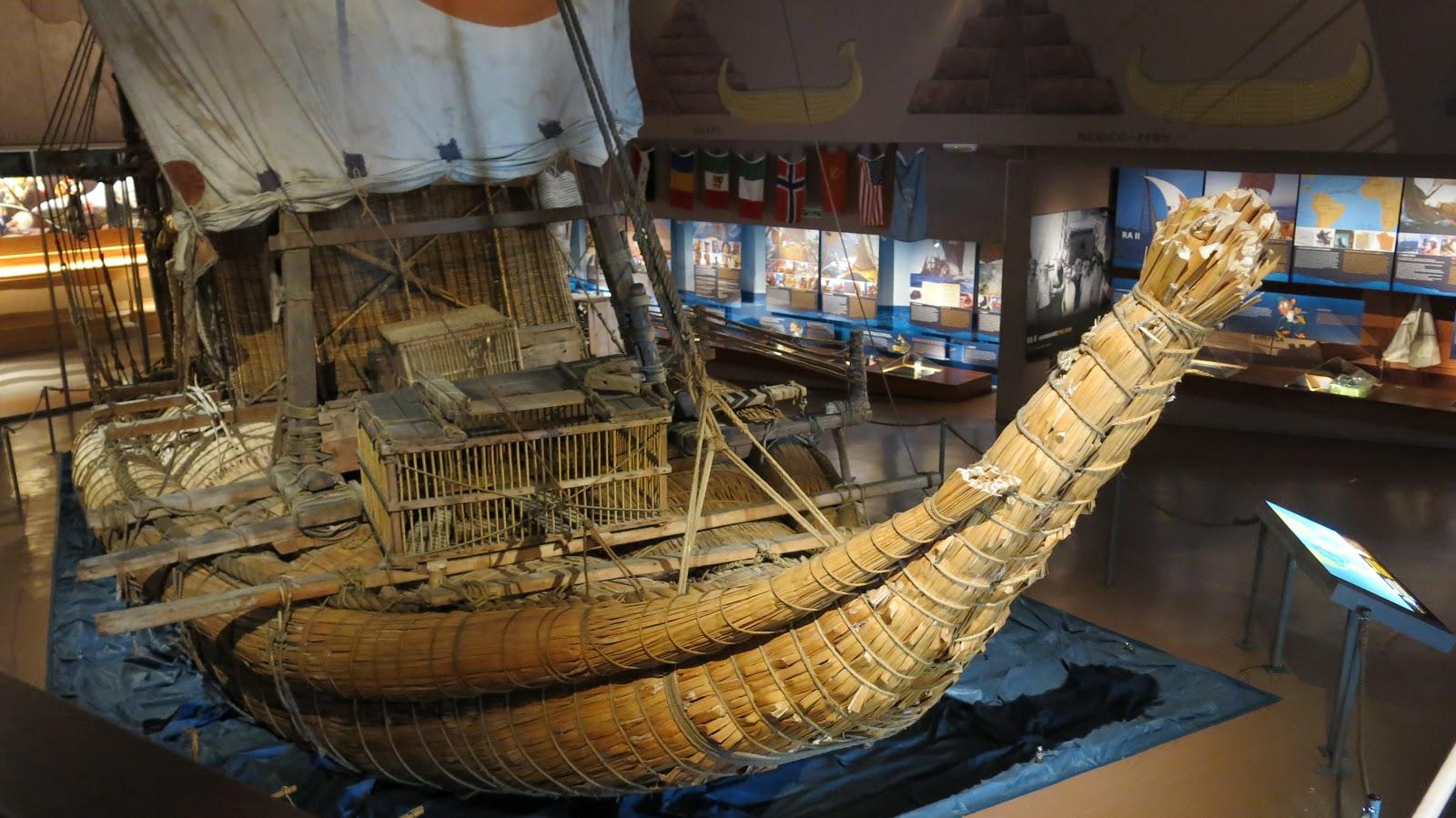 c672d3216e Ele foi utilizado por Heyerdahl para navegar desde o norte de África até ao  Caribe. Uma tentativa anterior com o Ra I fracassou, tendo o barco sido  perdido ...