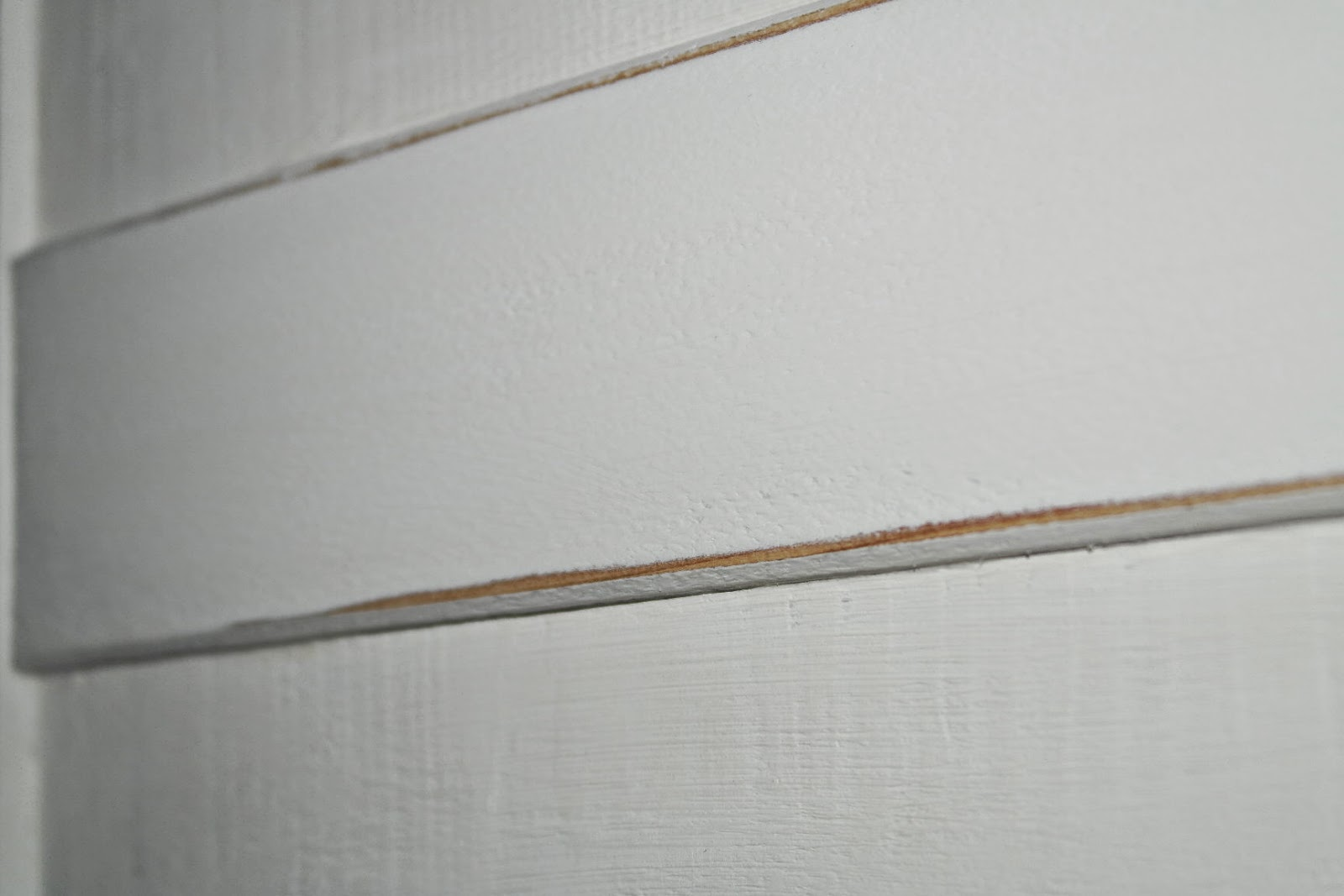 Holzpaneele Streichen Mit Wandfarbe. Wandpaneele