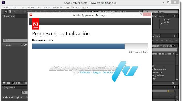 Adobe After Effects CC Versión 13.5.0 Español