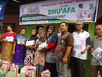BSMI - LAZIS PLN Wil.SUMUT Gelar Program Layanan Kesehatan Gratis Dan Pemberian 100 Paket Sembako Untuk Dhuafa