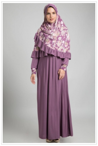 Model Busana Muslim Wanita Pendek
