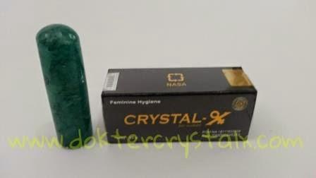Crystal X obat herbal keputihan aman dan alami