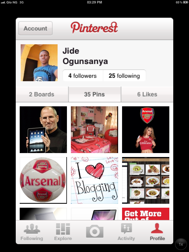 download pinterest app for ipad iphone and ipod touch ogbongeblog. Black Bedroom Furniture Sets. Home Design Ideas