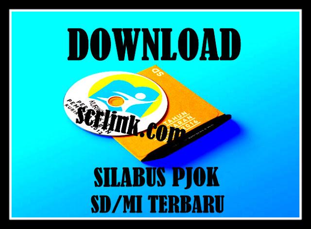 Download Contoh  Silabus  PJOK SD/MI Lengkap Terbaru