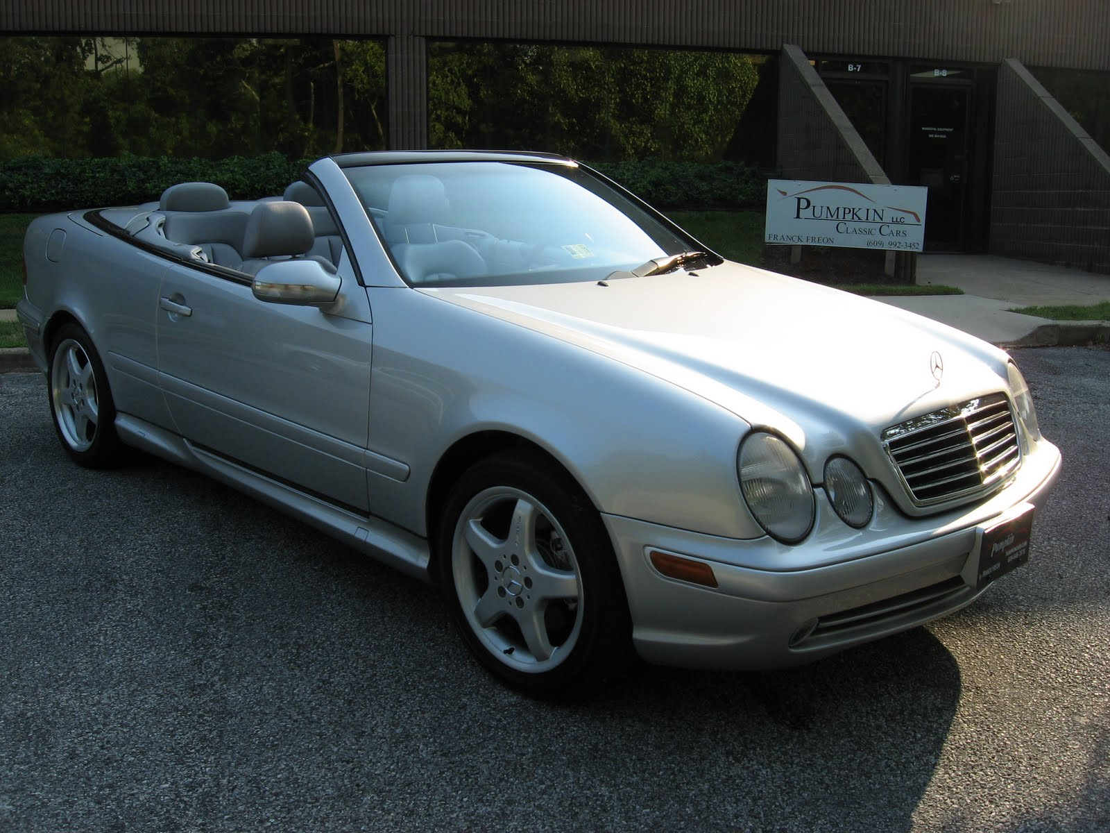 pumpkin fine cars and exotics 2002 mercedes benz clk430 cabriolet. Black Bedroom Furniture Sets. Home Design Ideas