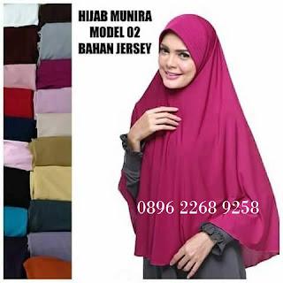 Harga jual koleksi terbaru jilbab Munira MD 02 dewasa | Jilbab Syar'i