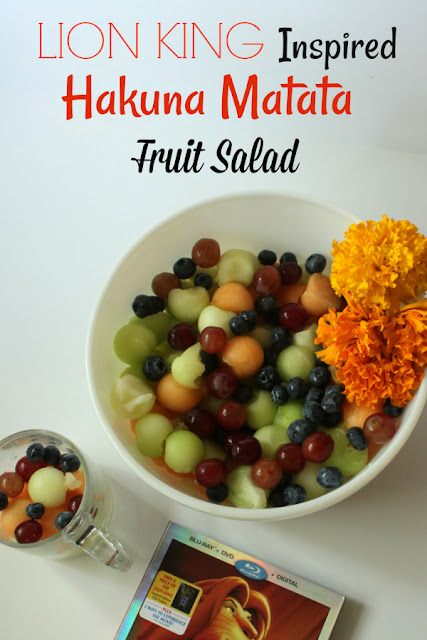 Get our recipe for Hakuna Matata Fruit Salad and learn about the new release of The Lion King: Circle of Life Edition on Blu-Ray, DVD, and Digital HD.