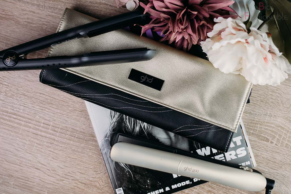 Hair in Motion ghd Crimper gold Styler Flatlay