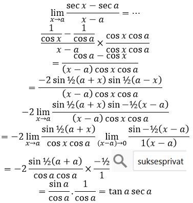 limit sec per x