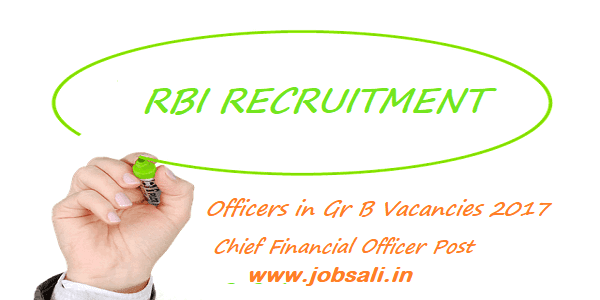 RBI Recruitment 2017, RBI Exam Dates