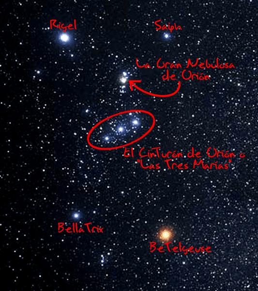 4a0480a4df3c77 Encontrando estrellas: Orion y sus vecinos Aldebaran y Sirio