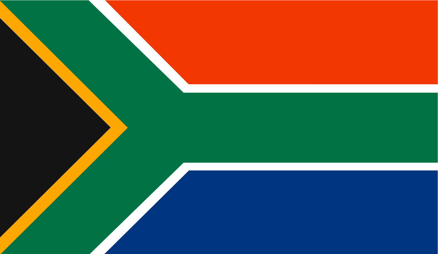 South Africa Mission Trip: South Africa's Flag