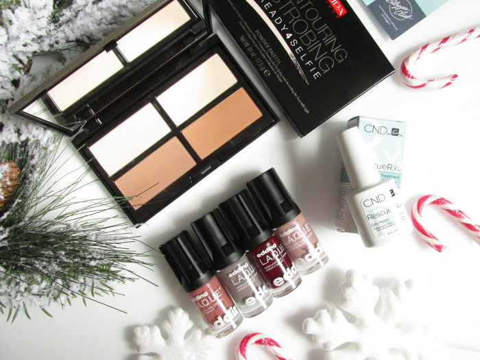 Unboxing: Blogger-Club November Box - edding L.A.Q.U.E. Nagellacke, pupa Milano & CND Daily Keratin Treatment - Beauty Blog Madame Keke