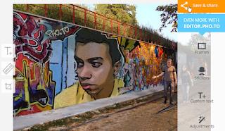 Membuat foto Atau juga lukisan di tembok jalanan tentu saja membutuhkan modal yang tidak sedikit. Apalagi jika sobat mengundang para senniman jalanan untuk melukiskan poto sobat di tembok jalanan. Tentu akan memerlukan biaya yang cukup besar,jika sobat seorang yang berduit mungkin itu tidak jadi soal,tapi bagi kalangan yang hidupnya pas-pasan mending mikir dulu deh kalau ingin melukis wajahnya di tembok jalanan.
