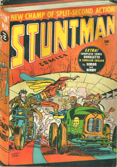 Simon-Kirby Stuntman Harvey Comics
