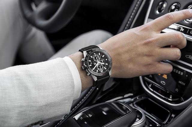 TAG Heuer Carrera Calibre Heuer 01 Aston Martin Special Edition Watch