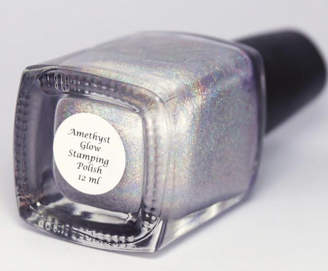 Colors by Llarowe - Amethyst Glow, Hypnotic Polish, Stamping, Nagellack, Glitzer