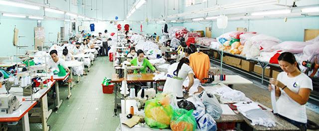 Xưởng may áo đồng phục BiCi