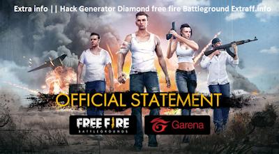 Extra info || Hack Generator Diamond free fire Battleground Extraff.info