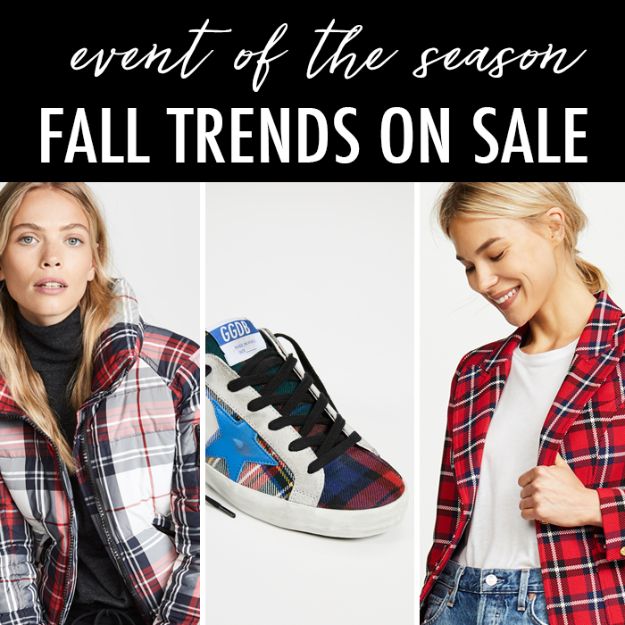 shopbop sale fall trends