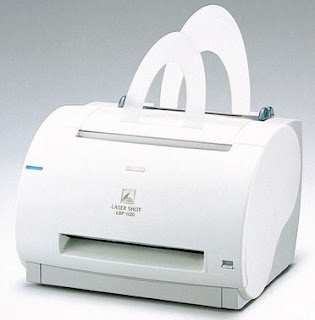 having a curved front and top surface and paper feeding given by a near Canon Laser Shot LBP-1120 Driver Download