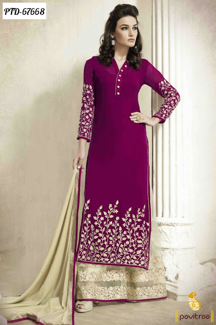 Latest Palazzo Salwar Kameez Online Collection Eid 2016