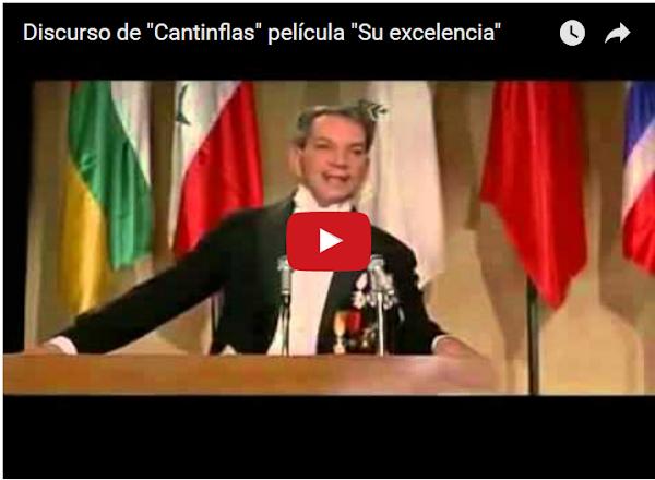 Un mensaje de cantinflas para los chavistas y para los no chavistas