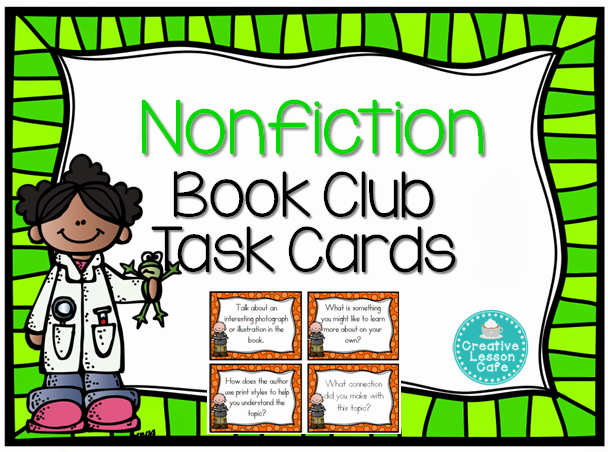 Creative Lesson Cafe: Reading Nonfiction Activities, Task ...