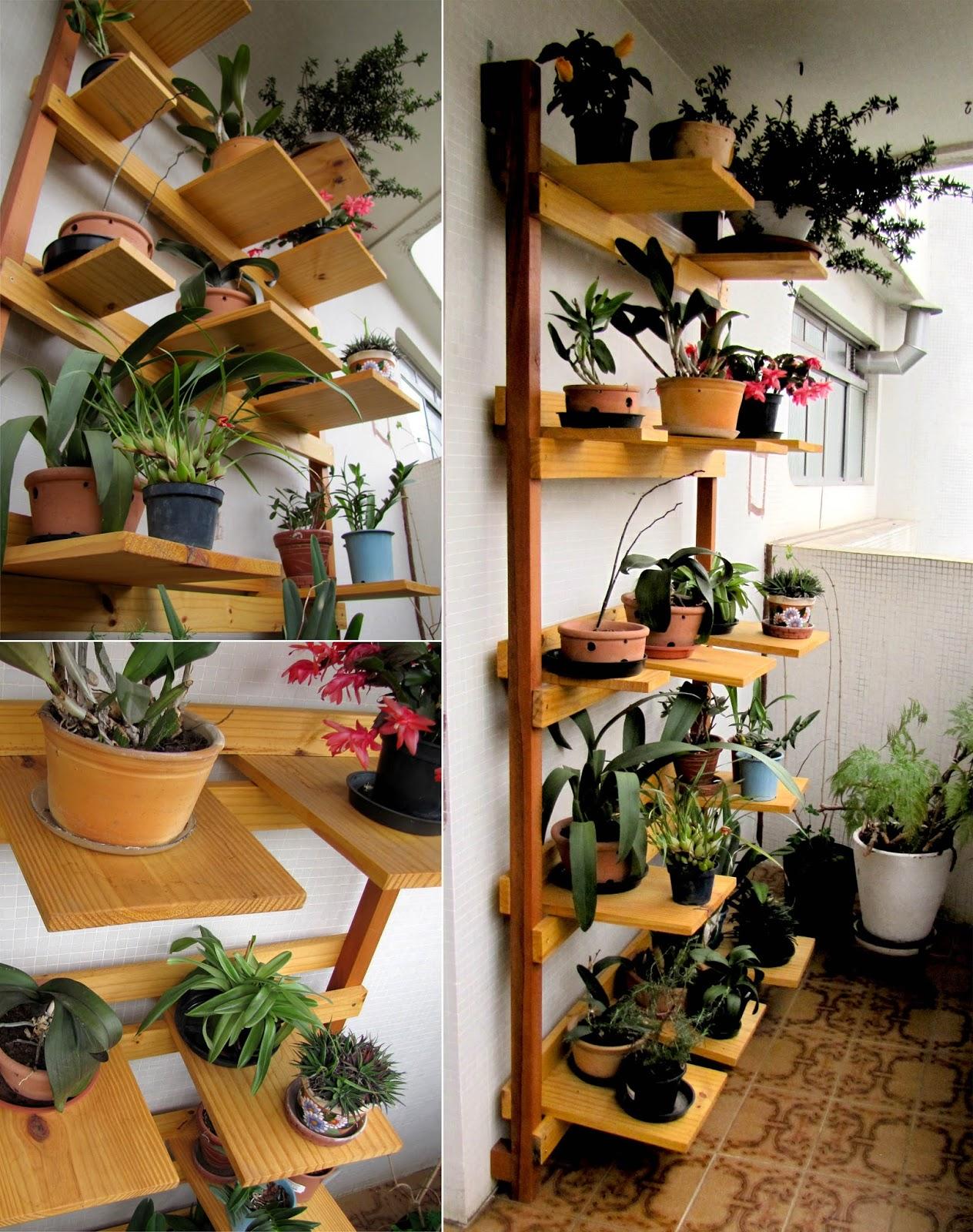 Artelieco suporte de plantas para pequenos espa os for Plantas para estanques pequenos