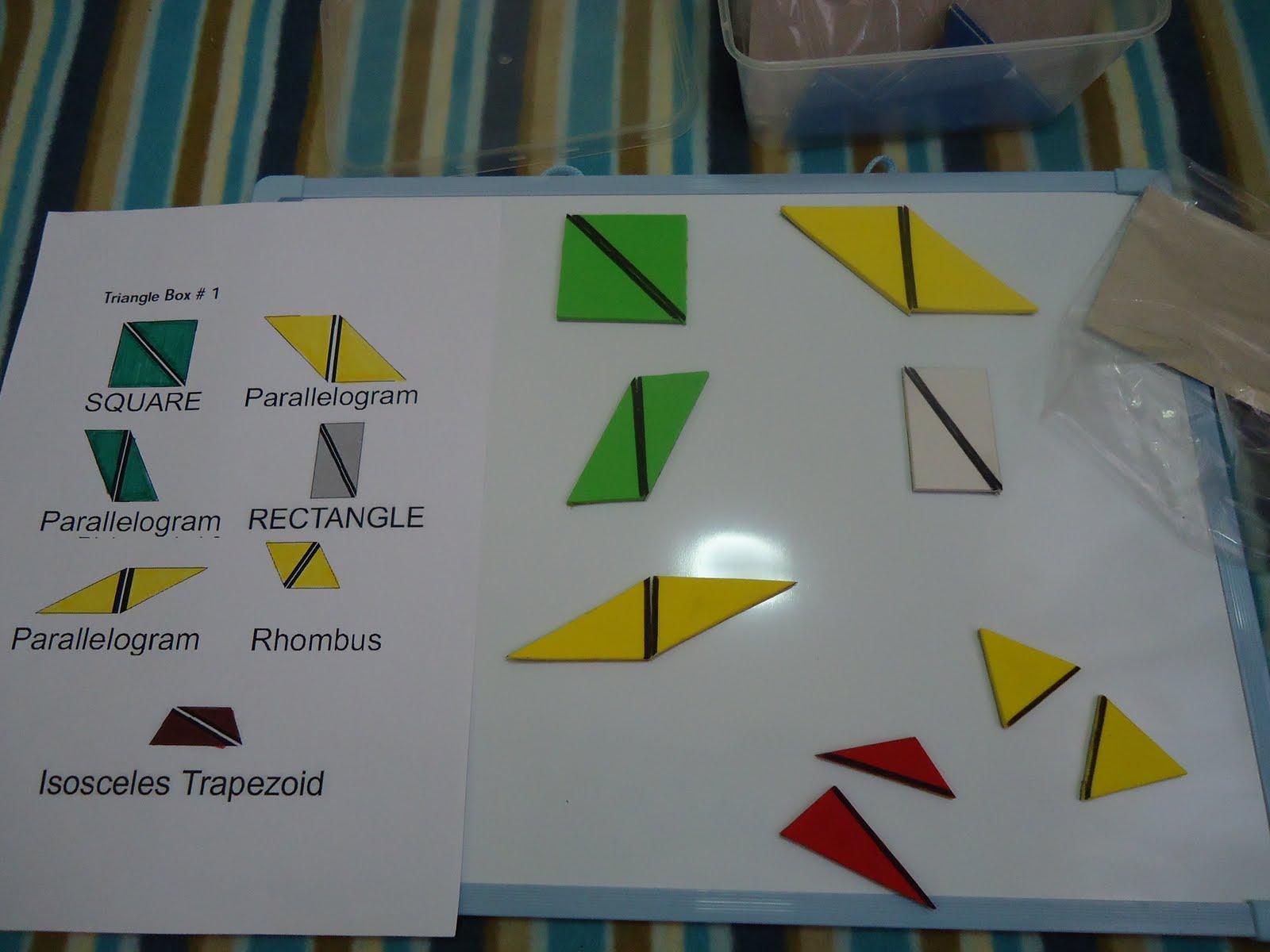 Teacher Weena Constructive Triangles