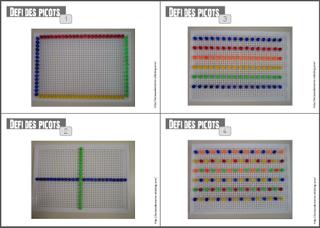 Reproduire un algorithme de couleurs avec les picos