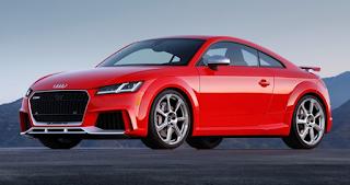 2018 Audi TT RS utilizes changeless quattro