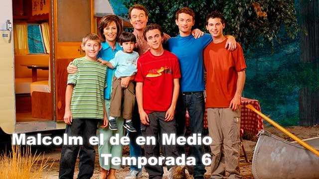 Malcolm el de en Medio Temporada 6 Completa Español Latino