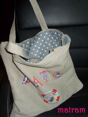 haftowana torba